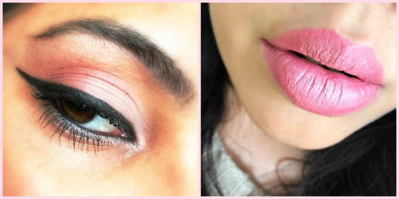 Pink Makeup Collage 2